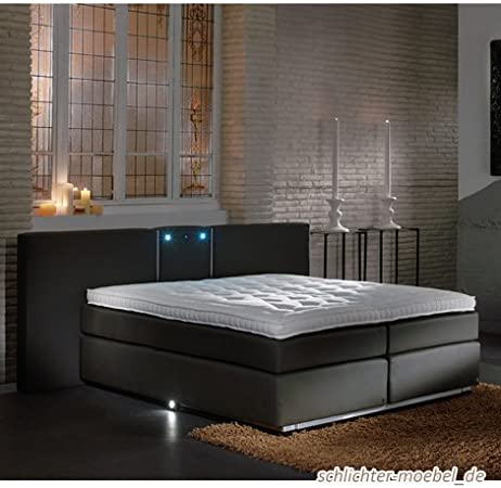 Cama con somier cama aoxly XL con motor: Amazon.es ...