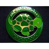 Delux Masonic Are you A Turtle? Y.B.Y.S.A.I.A. Heavy Alloy Car Emblem