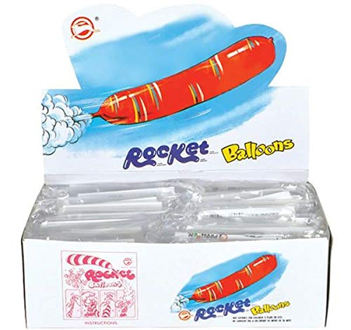 72 Rocket Balloons