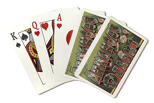 (Greetings from Arkansas (Ozarks) (Playing Card Deck - 52 Card Poker Size with Jokers) )