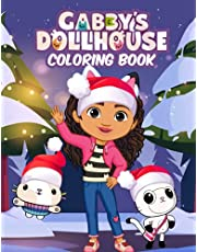 Gabby's Dollhouse Coloring Book: A Cool Coloring Book With Many Illustrations Of Gabby's Dollhouse For Fans of All Ages To Relax And Relieve Stress, (New Edition 2022)