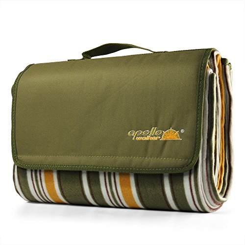 Flexzion Picnic Blanket Waterproof Backing