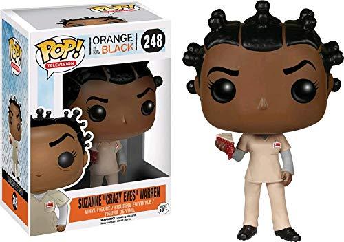 Orange Is the New Black POP! Television Vinyl Figure Suzanne Crazy Eyes Warren (With Pie) 10 cm Funko Mini fig