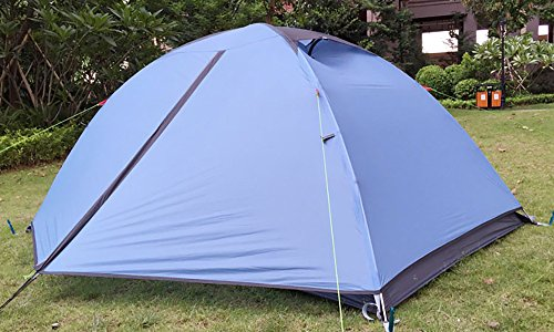 MaxMiles 1 2 Person Premium Backpacking Tent Ultra-Lightweight 20D Nylon Taffeta Rip-Stop Tent 3.4lb/1.5kg - Strong Durable Waterproof Mountain Hiking Tent- Compact One or Two Person Ultra-Light Tent by MaxMiles (Image #7)