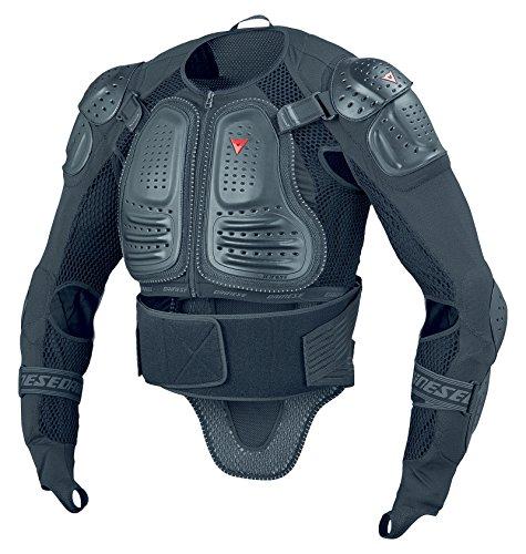 Dainese Light Wave D1 Mens Body Protection Armor Jacket Black Type 2, LG