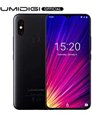 "UMIDIGI F1 Smartphone Libres Android 9.0 Teléfono Inteligente Dual SIM 6.3"" FHD + 128GB ROM 4GB RAM Helio P60 5150mAh Batería 18W Carga rápida Teléfono móvil con NFC 16MP + 8MP Cámara"