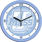 University of Massachusetts UMass Glass Wall Clock