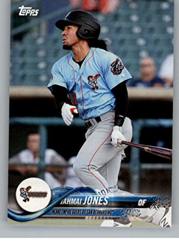 2018 Topps Pro Debut Minor League Baseball Trading Card #82 Jahmai Jones Inland Empire 66ers of San Bernardino