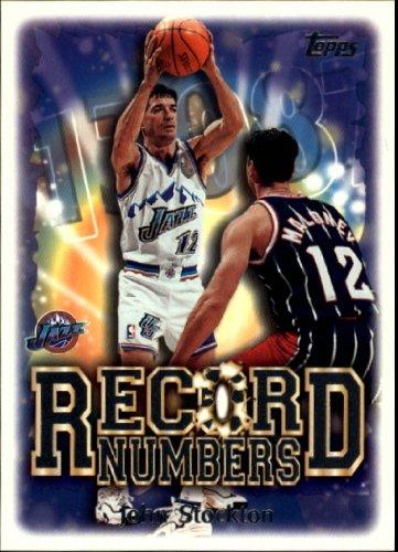 1999-00 Topps Record Numbers #RN5 John Stockton - - Number Stockton