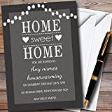 Grey String Lights Personalized Housewarming Party Invitations