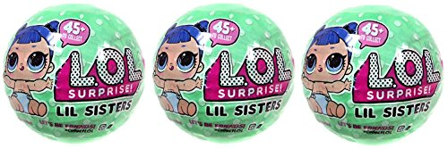 Wave 2 Series (L.O.L Surprise! Lil Sisters Series 2 Wave 2 Mystery Pack (Pack of 3))