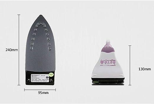 Plancha de Vapor Vaporizador de Ropa Máquina de Planchar de Mano Plancha de Vapor Generador de Vapor portátil de Vapor de Viaje para el hogar 1100W, 240 * 130 * 95 mm: Amazon.es: Hogar