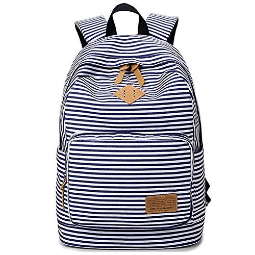 School Backpack Bookbag Canvas Daypack