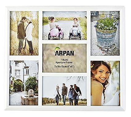 ARPAN múltiples de marco para 7 fotos, 3 x 15 x 10 cm y 4 x 10 x 15 ...