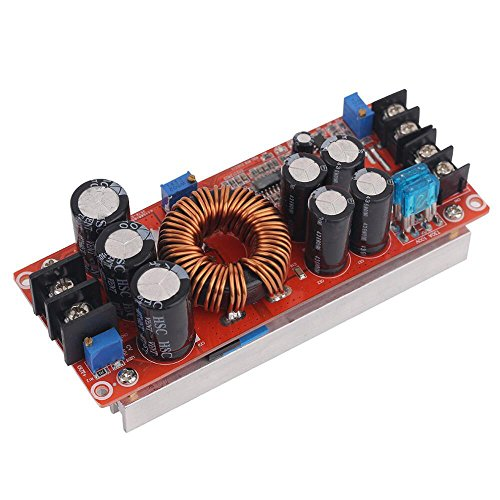Aideepen 1200W 20A DC Converter Boost Car Step-up Power Supply Module 8-60V to 12-83V by Aideepen