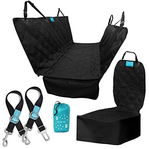 dog car seat covers and dog seat belt kit 1 hammock style import