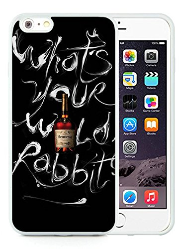 Generic iPhone 6 Plus TPU Case,Hennessy Bottle White Cover Case For iPhone 6S Plus 5.5 inches (Hennessy Bottle Cover)