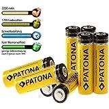 8er Pack Bundlestar PATONA Akkus MIGNON AA (2200mAh!!) - Batterien in Akkuboxen - Neueste Version - 2200mAh - READY TO USE !