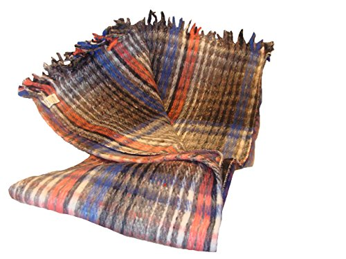 Sanyork (Tm) Wholesale Brushed Recycled Wool Warm Blanket Three Pack Mexico  Throw Mexican Assorted *004909*