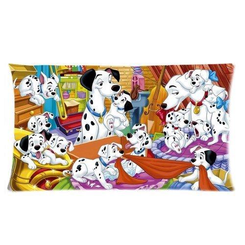 Custom Cartoon 101 Dalmatians Cute Dog Rectangular Pillow Ca