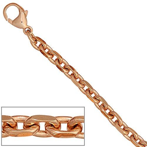 JOBO ankerarmband en or rose 585 19 cm-fermoir mousqueton