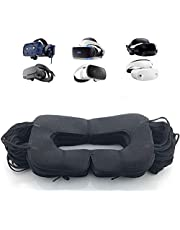 VR Mask Disposable Eye Cover Mask for Oculus/HTC/Gear VR, Prevent Eye Infections ( Black 50 pcs)…