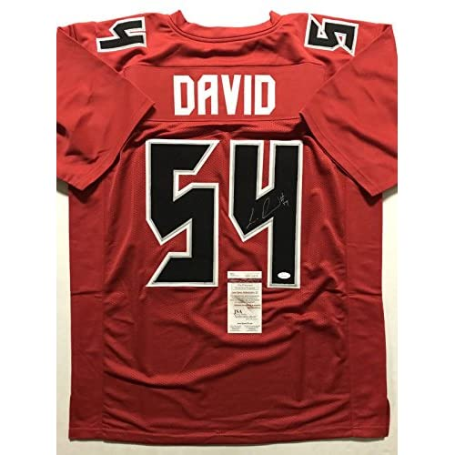 AutographedSigned Lavonte David Tampa Bay Buccaneers Color Rush