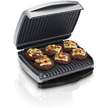 Amazon Com Hamilton Beach 25335 Indoor Grill Kitchen