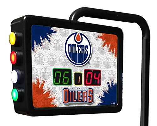 Edmonton Oilers Electronic Shuffleboard Scoring Unit - Officially Licensed