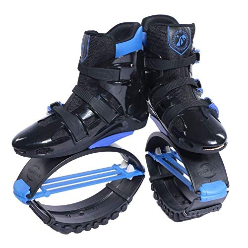 - LRfashion Unisex Bounce Boots Jumping Shoes Gym Rebound Shoes Power Shoes Anti-Gravity Boots Fitness Boots Running Shoes Lose Weight Shoes for 99-176 Lbs,B,L=UK5.5(50~70kg)