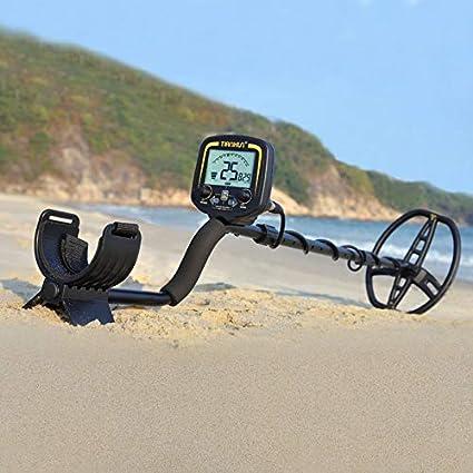 Huihuiya Detector de Metales Profesional TX-850 Detector de Profundidad subterránea de 2,5 m Finderblack: Amazon.es: Hogar