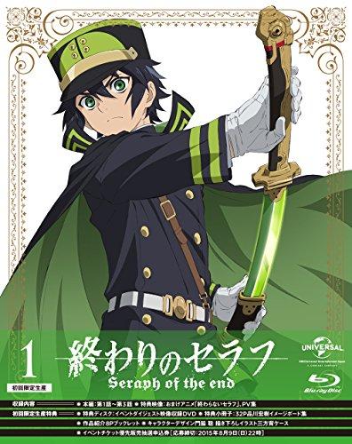 Animation - Seraph Of The End (Owari No Seraph) Vol.1 (CD+DVD) [Japan LTD BD] GNXA-1401