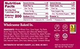 Nature's Bakery Whole Wheat Fig Bars, Raspberry, 6- 6 Count Boxes of 2 oz Twin Packs (36 Packs), Vegan Snacks, Non-GMO