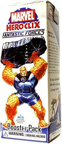 Fantastic Forces Booster - Marvel HeroClix Fantastic Forces Booster Pack