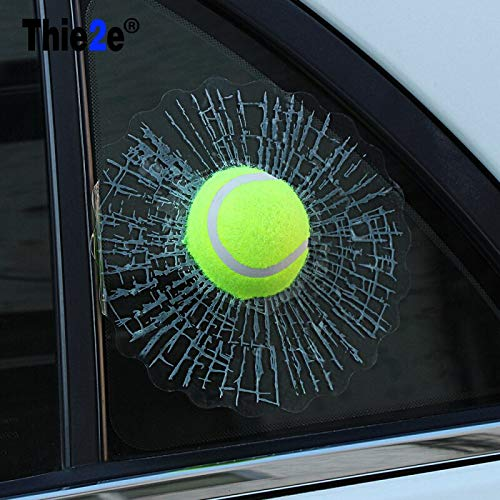 (Star-Trade-Inc - Car-styling 3D Car Sticker Tennis Hit Window For Ford Focus Volkswagen Golf Mercedes Renault)