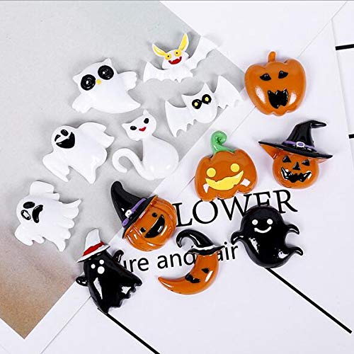 (Auch 13 PCS Halloween Charms Pendants Halloweem Decorations Resin Charms for DIY Craft)