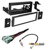 CAR STEREO DASH INSTALL MOUNTING KIT + WIRE HARNESS + RADIO ANTENNA FOR CADILLAC CHEVROLET GMC