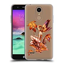 Official Renee Biertempfel Falling Leaf And Friend Fairy Soft Gel Case for LG G3 S / G3 Beat / G3 Vigor