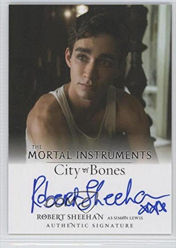 Robert Sheehan (Trading Card) 2013 Leaf The Mortal Instruments: City of Bones - Authentic Signatures #AI-RSI by...