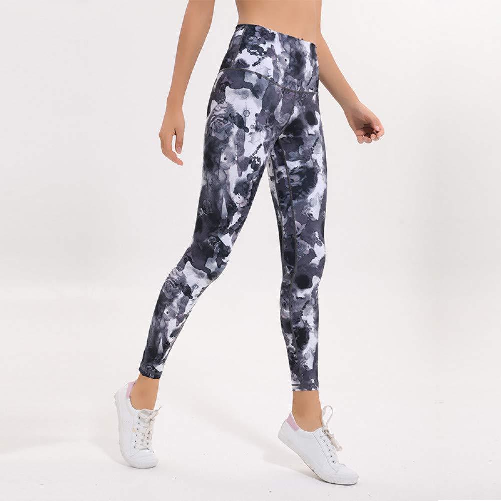 Floral X-grand NSYJKPantalon de yogaCollants pour Femmes Taille Haute Pantalons de Yoga Tummy Control Workout FonctionneHommest Pantalons Way Stretch Yoga Leggings avec Poche cachée