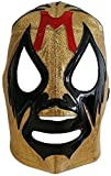 Deportes Martinez Adult Professional Mil Mascaras Lucha Libre Mask One Size Gold