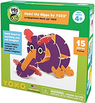 Yoxo PBS Kids Hazel the Hippo Creative Building Toy