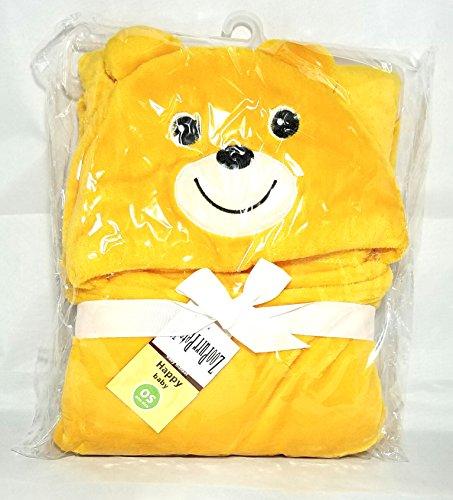 Zoopurr Pets Baby Boys' or Baby Girls' Hooded Animal Blanket; Super Soft, Huggable Plush Hoodie Blanket (Teddy Bear) by ZoopurrPets (Image #2)