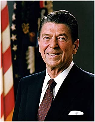 Wall Art Print ~ RONALD REAGAN Official Presidential Photo: In the Oval Office