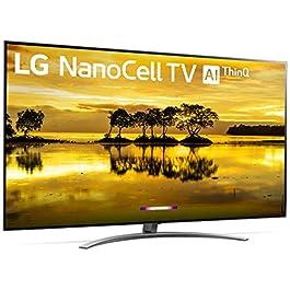 LG 65SM9000PUA Nano 9 Series 65″ 4K Ultra HD Smart LED NanoCell TV (2019), Black