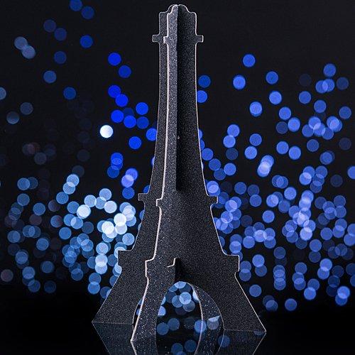 (Paris France Eiffel Tower Glitter Party Centerpiece Party Supplies Decorations)