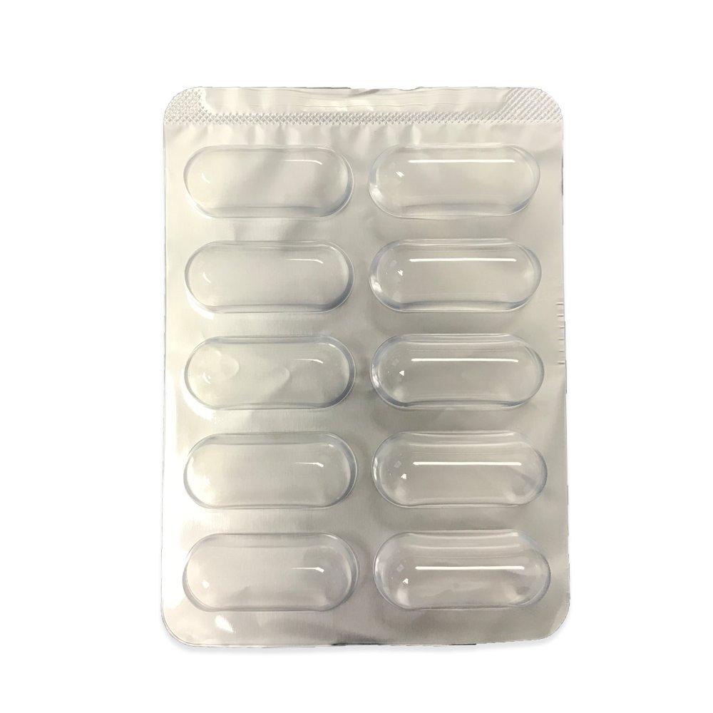 Capsuline 10 Pack Blister Sheet Capsule Packaging 1000 Count