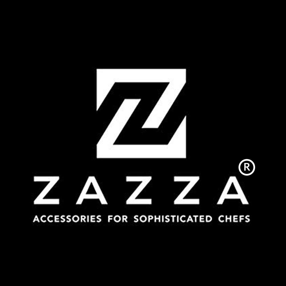 Zazza Cheese Knife Set with Slate Cheese Markers, Chalk and Polishing Cloth