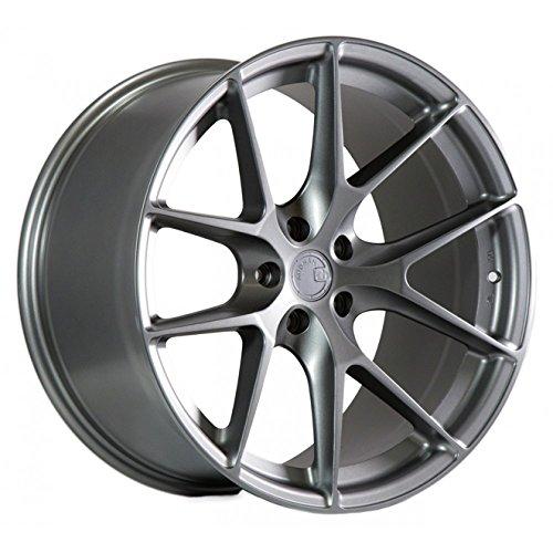 (Aodhan Wheels LS-07: 19X9.5, 5X120, 72.6, 15, (Matte Gun Metal))