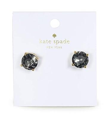9ed96a706fc4 Amazon.com  Kate Spade New York Kate Spade Earrings (Black Diamond ...